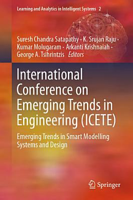 International Conference on Emerging Trends in Engineering  ICETE  PDF
