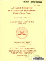 A Selected Bibliography of the Nearshore Environment