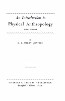 AN INTRODUCTION TO PHYSICAL ANTHROPOLOGY THIRD EDITION PDF