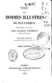 Vies des hommes illustres: t. 2, t. 3, t. 4