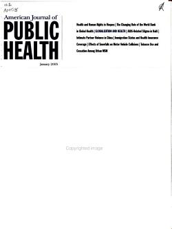 American Journal of Public Health PDF