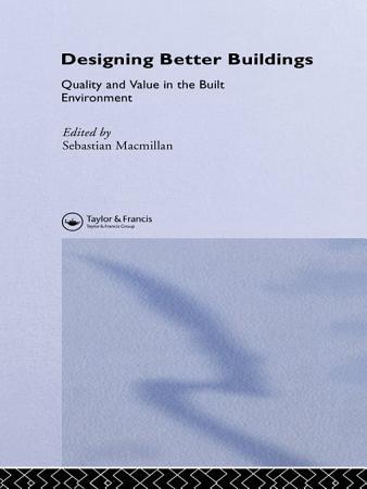 Designing Better Buildings PDF