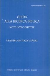 Guida alla ricerca biblica: note introduttive