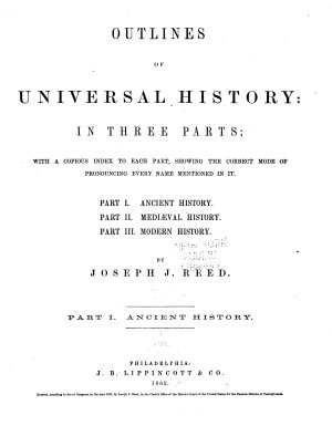 Outlines of Universal History PDF