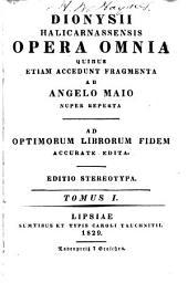 Opera omnia: Τόμοι 1-2