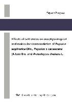 Effects Of Salt Stress On Ecophysiological And Molecular Characteristics Of Populus Euphratica Oliv   Populus X Canescens  Aiton  Sm  And Arabidopsis Thaliana L