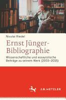 Ernst J  nger Bibliographie  Fortsetzung PDF
