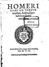 Homeri Ilias