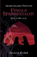 Arabo Islamic Texts on Female Homosexuality PDF