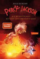 Percy Jackson   Auf Monsterjagd mit den Geschwistern Kane  Percy Jackson  PDF
