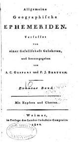 Allgemeine geographische Ephemeriden: Band 10