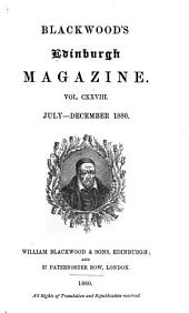 Blackwood's Edinburgh Magazine: Volume 128