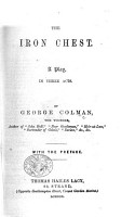 The Iron Chest  a play     The second edition  Based on William Godwin s novel  Things as they are   MS  alterations PDF