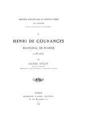 Henri de Courances maréchal de France: 1255-1268