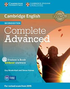 Complete Advanced Student s Book without Answers with CD ROM PDF
