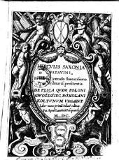 Herculis Saxonia De plica quam Poloni gwoźdźiec, Roxolani kołtunum vocant, liber