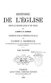 Histoire générale de l'Eglise depuis la création jusqu'à nos jours: Volume30