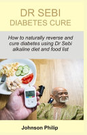 Dr Sebi Diabetes Cure Book PDF