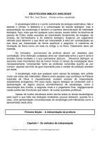 Escatologia Analisada PDF