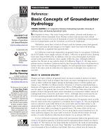 Basic Concepts of Groundwater Hydrology