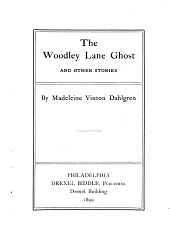 The Woodley Lane Ghost and Other Stories