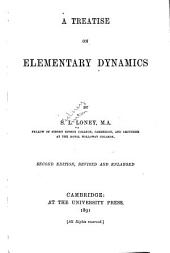 A Treatise on Elementary Dynamics