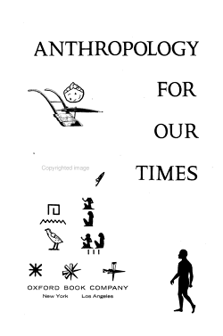 Anthropology for Our Times PDF