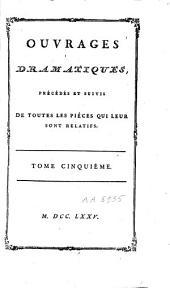 Oeuvres de Mr. de Voltaire: Volume6
