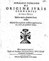 De Origine Iuris Germanici