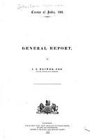 Census of India  1891 PDF