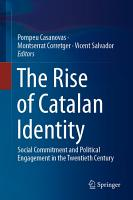 The Rise of Catalan Identity PDF