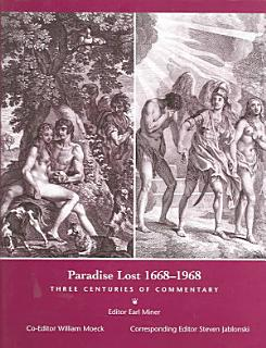 Paradise Lost  1668 1968 Book
