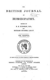 The British Journal of Homoeopathy: Volume 38