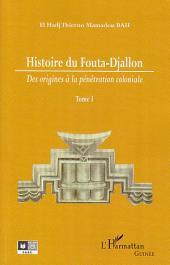 Histoire du Fouta-Djallon: Volume1