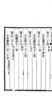 守意龕詩集: 二八卷, 第 1-8 卷