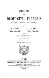 Cours de droit civil français