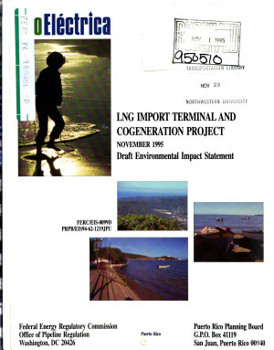 EcoElectrica Liquefied Natural Gas  LNG  Import Terminal and Cogeneration Project  Guayanilla Bay PDF