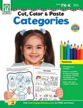Cut, Color & Paste Categories, Grades PK - K