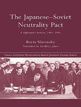The Japanese Soviet Neutrality Pact PDF