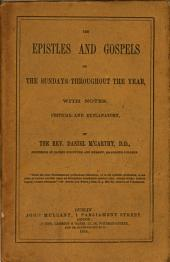 The Epistles and Gospels of the Sundays Throughout the Year