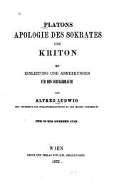 Apologie des Sokrates and Kriton