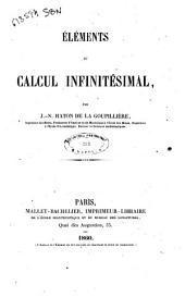 Eléments du calcul infinitesimal par J.-N. Haton de la Goupilliere