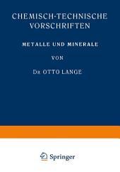 Metalle und Minerale: Ausgabe 3