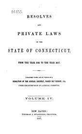 Private and Special Laws of the State of Connecticut