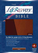 The Life Recovery Bible NLT  Tutone Book