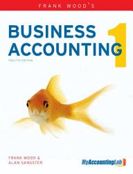 Frank Wood S Business Accounting Volume 1 Book PDF