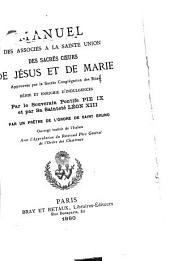 Manuel des associés à la Sainte Union des sacrés Coeurs de Jésus et de Marie