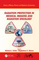 Radiation Protection in Medical Imaging and Radiation Oncology PDF