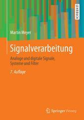 Signalverarbeitung: Analoge und digitale Signale, Systeme und Filter, Ausgabe 7