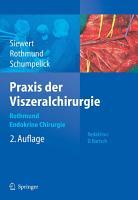 Praxis der Viszeralchirurgie PDF